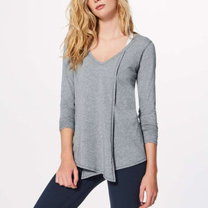 lululemon Knot A Problem Grey long sleeve
